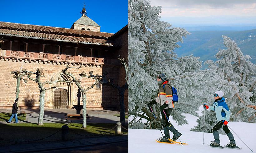 Ezcaray, un pueblo muy bonito de La Rioja y un entorno para disfrutar de la nieve