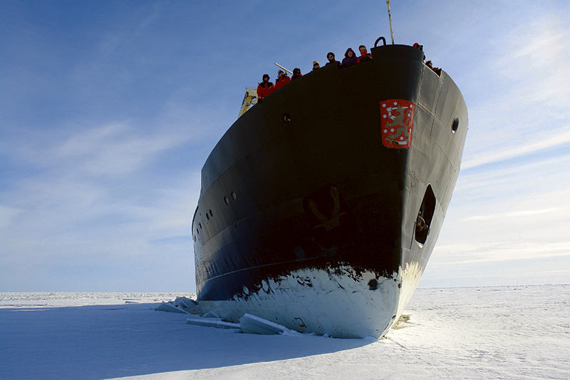 Explorar el Ártico a bordo de un rompehielos, para una vez en la vida