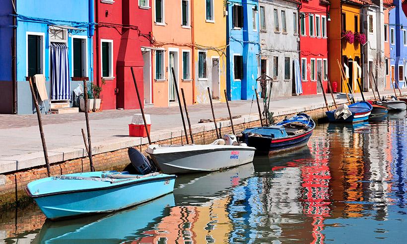 Cinco islas indispensables para llegar en vaporetto desde Venecia