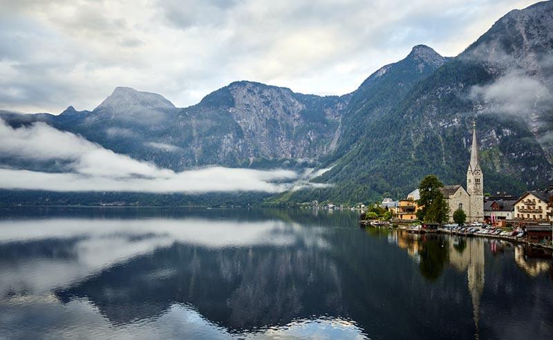 Hallstatt, un pueblo de postal en los Alpes austriacos