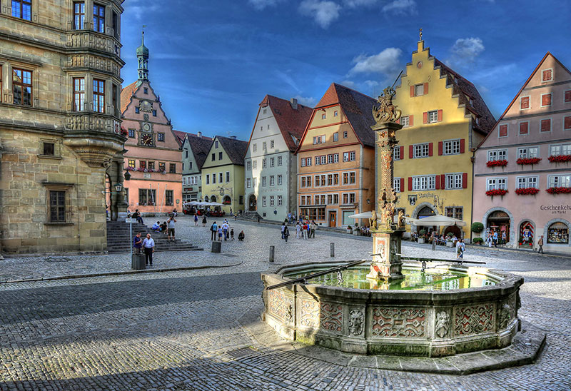 Rothenburg-ob-der-Tauber-alemania