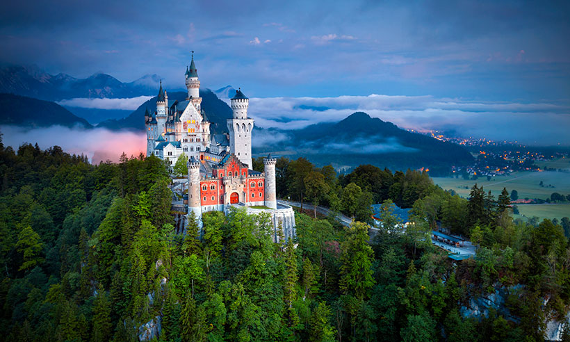 Escapada para dos a la Ruta Romántica alemana