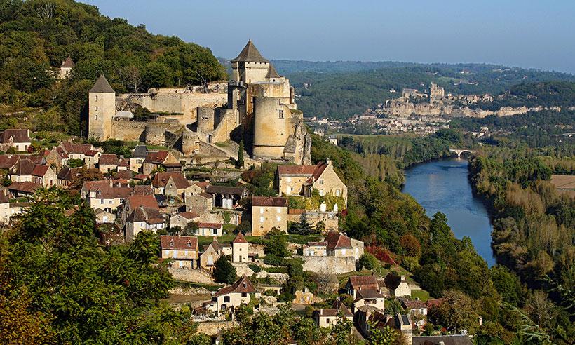 Por el valle de la Dordoña entre pueblitos con encanto y castillos medievales