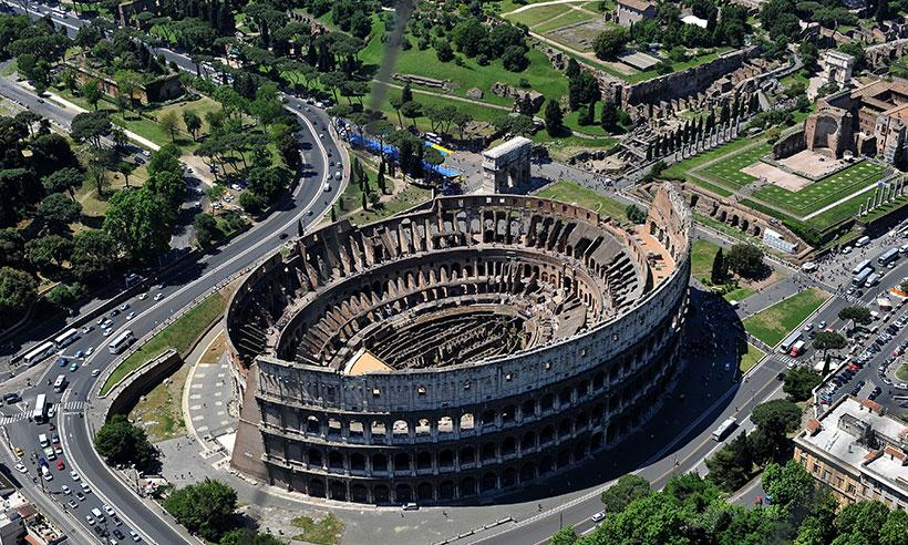 El nuevo Parque Arqueológico del Coliseo, el más grande del mundo