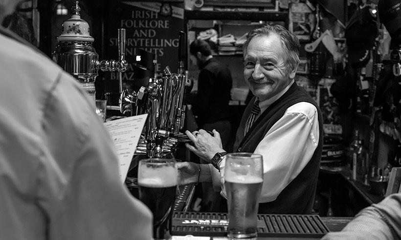 Ejercicios de barra en Dublín: los 10 pubs más curiosos
