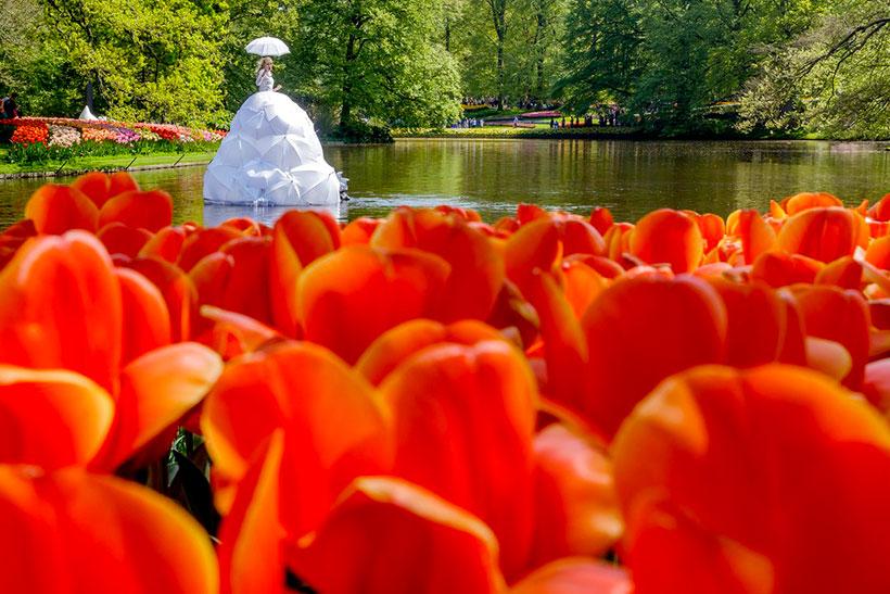 Keukenhof, el jardín más colorido de Europa en primavera