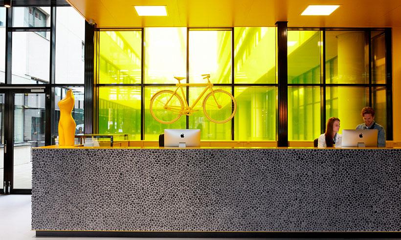 Un hotel de espíritu joven y moderno, en la onda de Ámsterdam