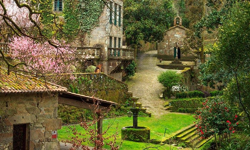 El pazo gallego donde alfonso xiii pasaba sus veranos - Donde alojarse en galicia ...