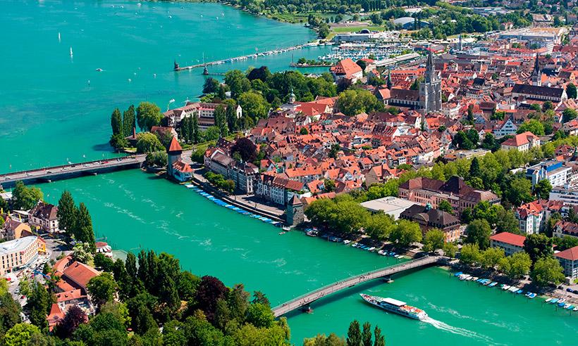 El lago Constanza, la glamurosa Costa Azul alemana