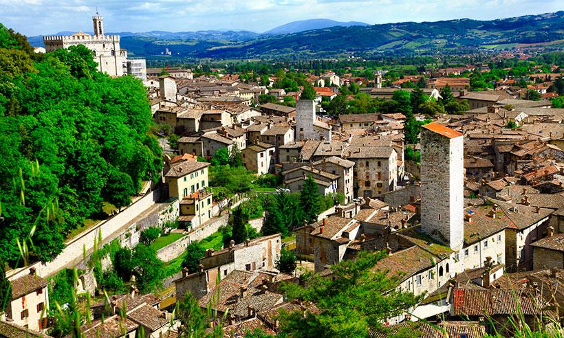 Gubbio, la ciudad de la que Eugenia Silva ha quedado prendada