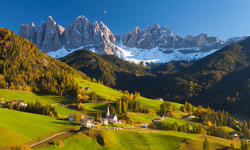 Las montañas son para el verano o qué hacer en los Alpes italianos