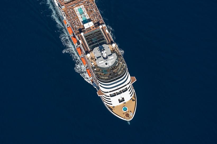 Ya está aquí el crucero del futuro