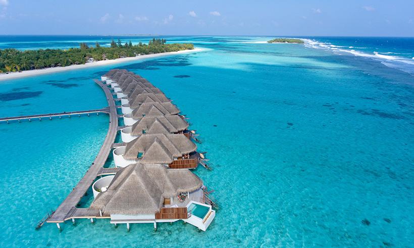 El paraíso existe y está en la isla de Kanuhura