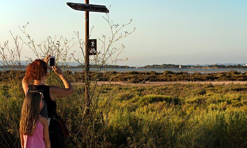 Rutas verdes de Formentera para recorrer a pie o en bici