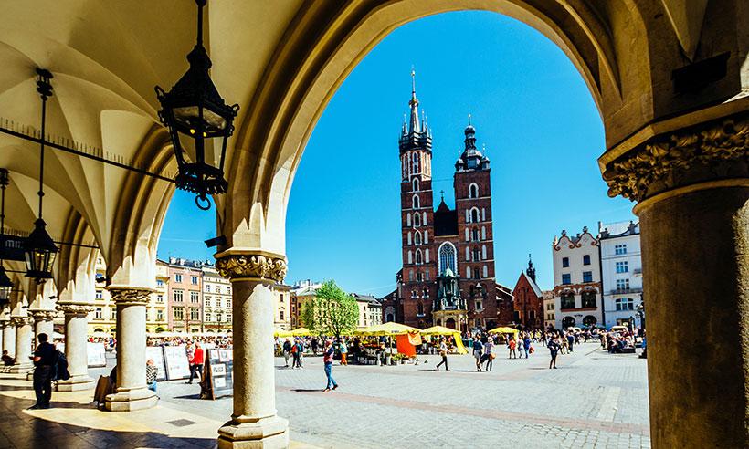 Cracovia, ruta trendy en una ciudad de cuento
