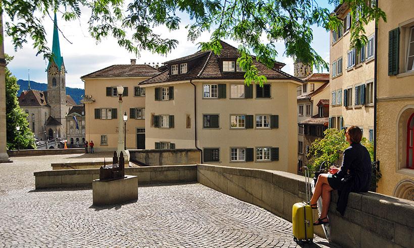Fin de semana en Zúrich, capital mundial de la buena vida