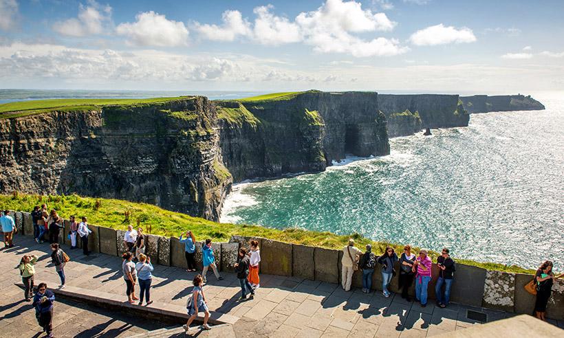 Cliffs de Moher, los acantilados irlandeses que cortan el aliento