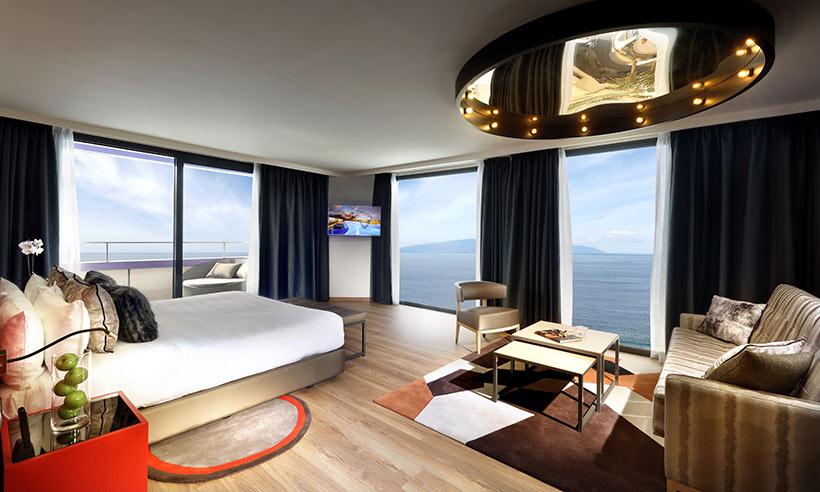 Las suites más inspiradoras con vistas al Atlántico