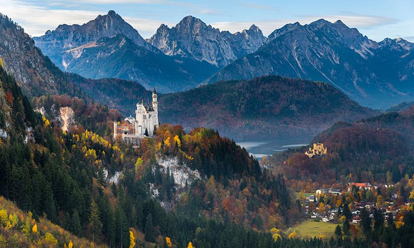 Tres excursiones a tiro de piedra desde Múnich