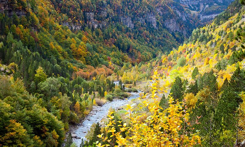 Las mejores excursiones por la naturaleza de Aragón para este otoño