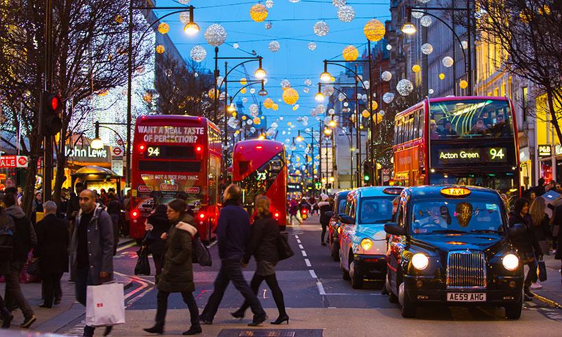 Los mejores lugares para dejarse envolver por la magia de la Navidad en Londres