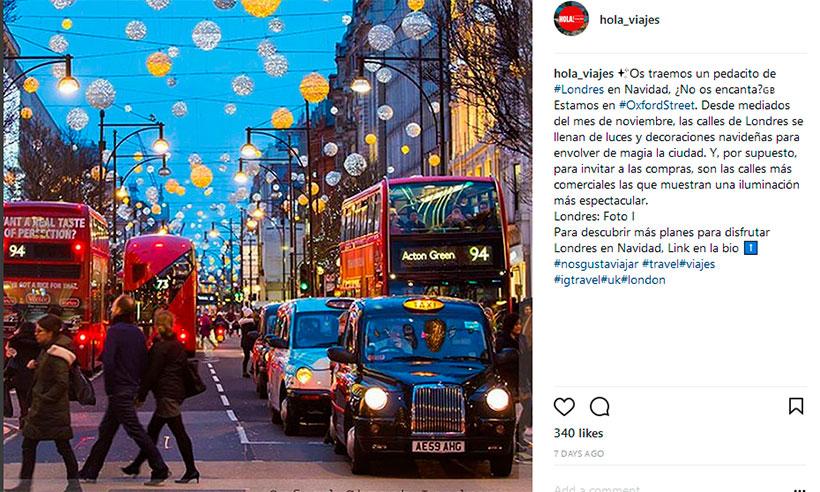 Las diez ciudades más instagrameadas del mundo en 2017
