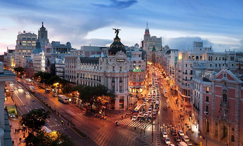 Fotos De Skyline >> Planes gratis en Madrid, porque ha llegado la cuesta de enero