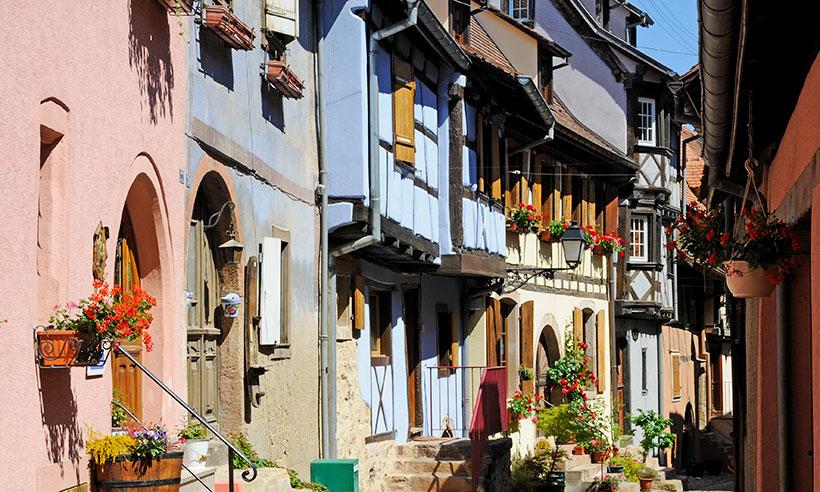 Eguisheim, un pueblo francés que desata la locura