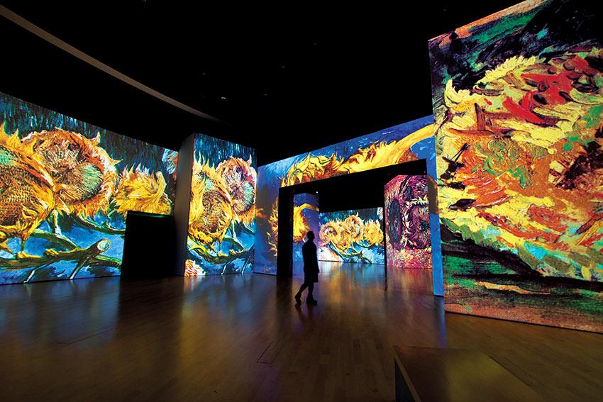 Viaje multisensorial a Sevilla con Van Gogh