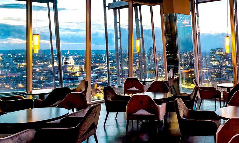 Restaurantes de Londres únicos para una cita romántica
