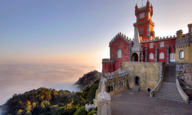 Ruta romántica por los palacios de cuento de Sintra