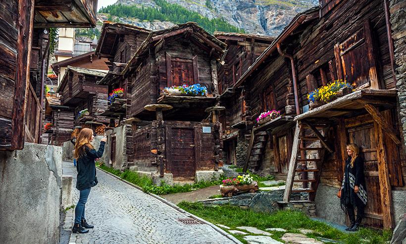 Zermatt, un pueblo con mucho glamour en los Alpes suizos (y sin coches)