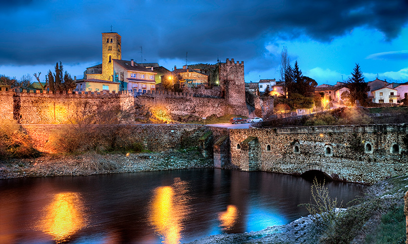 De Patones a Buitrago del Lozoya, la ruta del agua por la sierra de Madrid