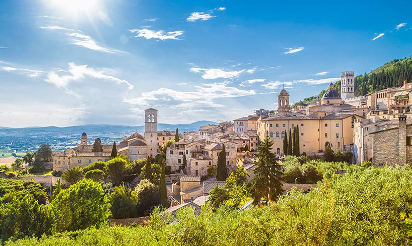 Un viaje en imágenes por lo mejor de la región italiana de Umbría