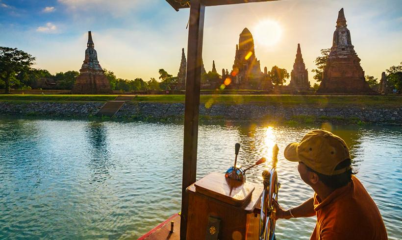 Ayutthaya, un lugar excepcional para estrenar el Año Nuevo tailandés