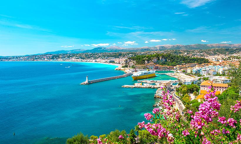 48 horas en Niza, la exaltación de la luz