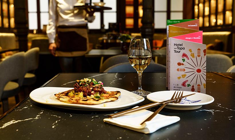 De tapas gourmet por los hoteles emblemáticos de Madrid y Barcelona