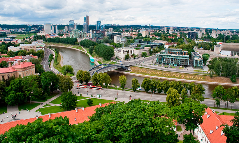 48 horas en Vilna, la capital de Lituania