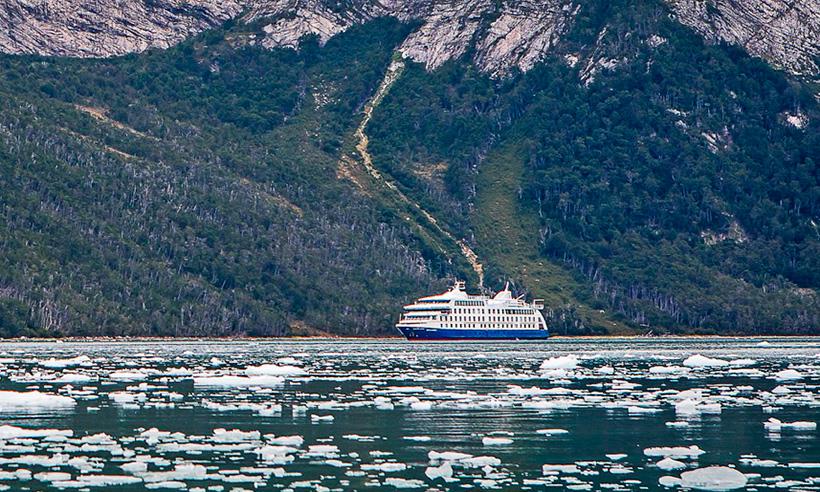 En crucero por la Patagonia, un viaje fascinante surcando el fin del mundo