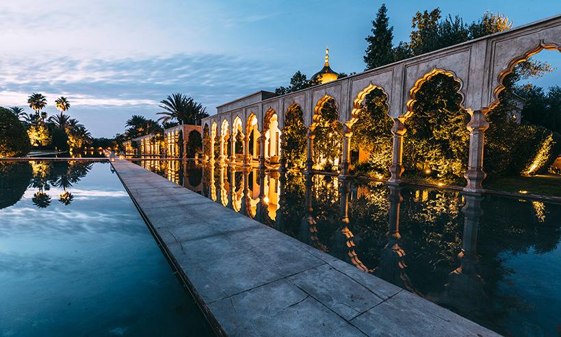 Un enclave de seductora belleza en la Palmeraie de Marrakech