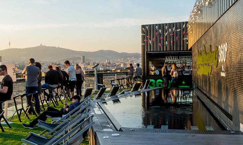 Terrazas de Barcelona en las alturas, para días y noches de verano