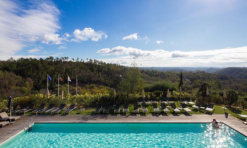 Con vistas al Algarve o cómo vivir el lujo en la sierra de Monchique