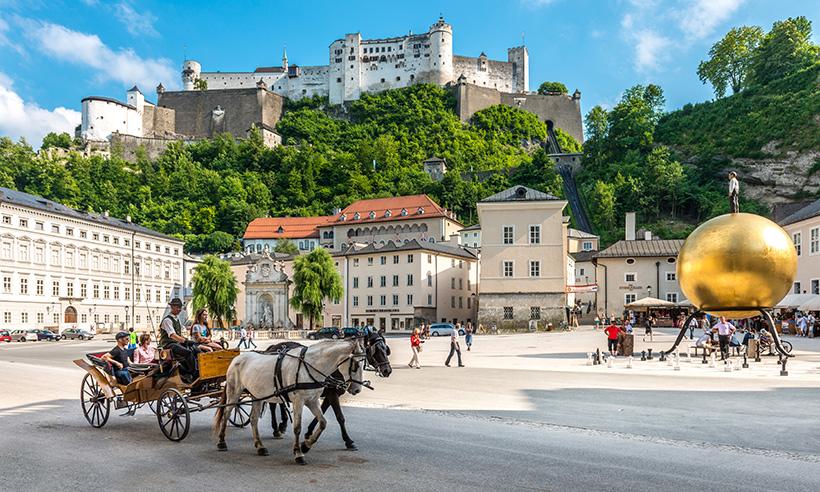 Salzburgo, la ciudad que es un escenario