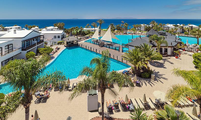Un remanso de paz cinco estrellas a pie de Playa Blanca