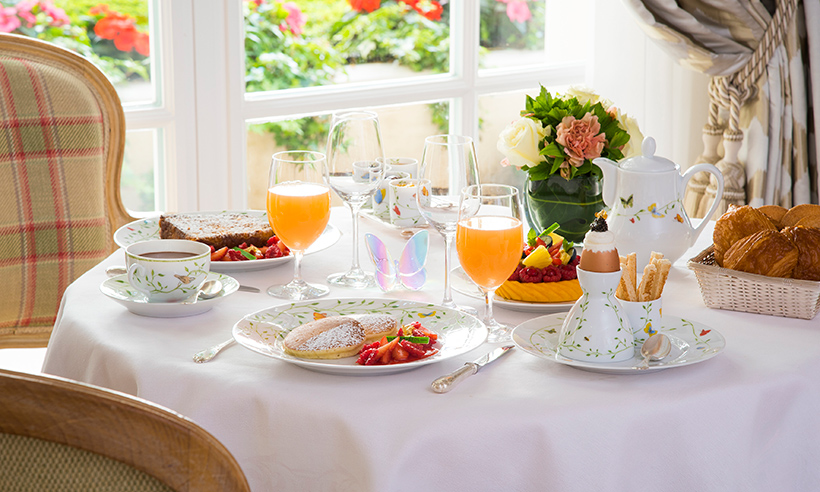 Desayunos de hotel espectaculares que invitan a viajar