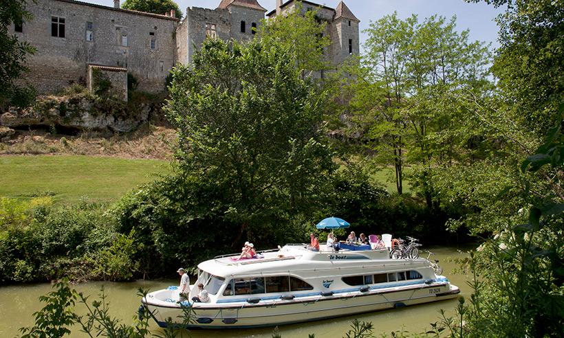 Capitanes intrépidos por los canales de Francia