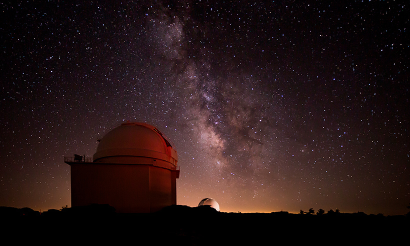 Los cielos más limpios de España para ver las estrellas