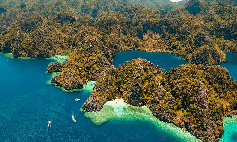 Bohol, la isla filipina donde se vuela sobre colinas de chocolate