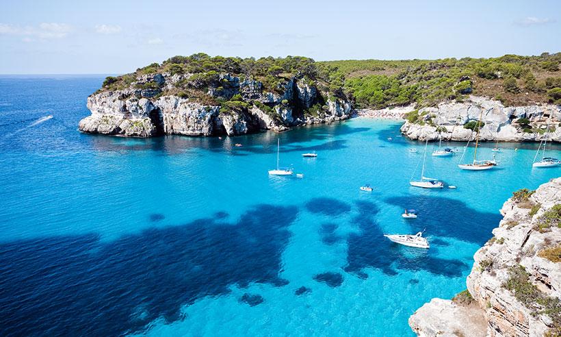 Ona Carbonell y sus rincones favoritos de Menorca