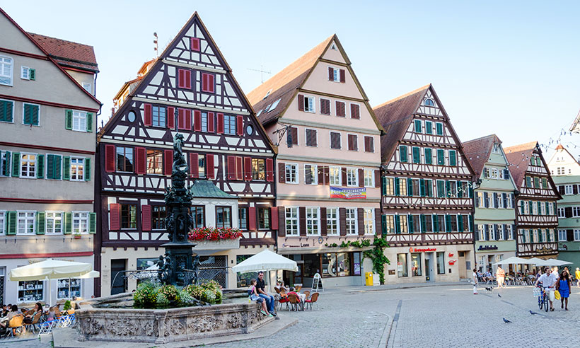Tübingen, la ciudad más joven de Alemania que parece de cuento